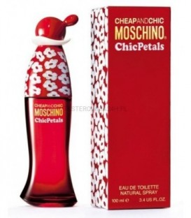 MOSCHINO CHIC AND CHIC PETALS EDT 100 ML W